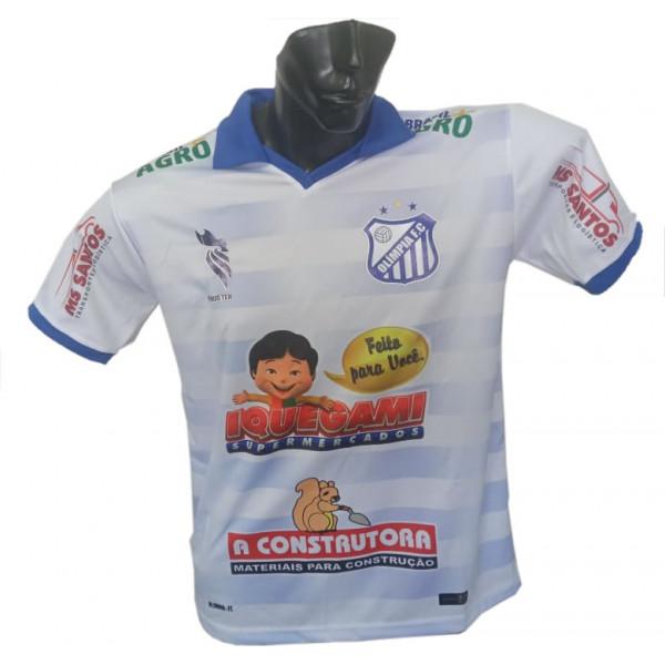 Camisa Oficial do Olímpia Futebol Clube Branca 2021